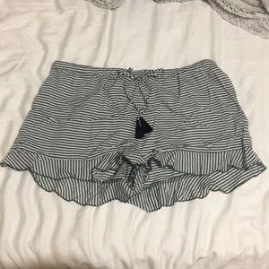 Ruffle Sleep Shorts